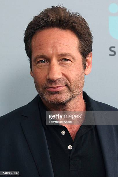 Actor David Duchovny attends the premiere of NBC's 'Aquarius' Season 2 held at The Paley Center for Media on June 16 2016 in Beverly Hills California