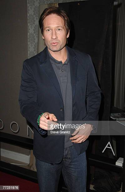 Actor David Duchovny inside Movieline's Hollywood Life Style Awards at the Pacific Design Center on October 7, 2007 in West Hollywood, California.