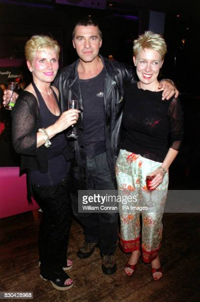 Actor David Easter who plays 'Pete Callan' at Channel 5's Family Affairs celebrity party held at the Ten Rooms in London