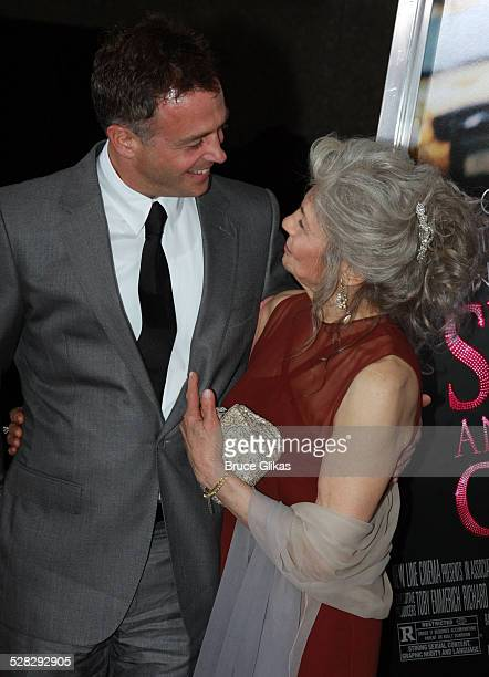 Actor David Eigenberg and actress Lynn Cohen attend the premiere of Sex and the City The Movie at Radio City Music Hall on May 27 2008 in New York...