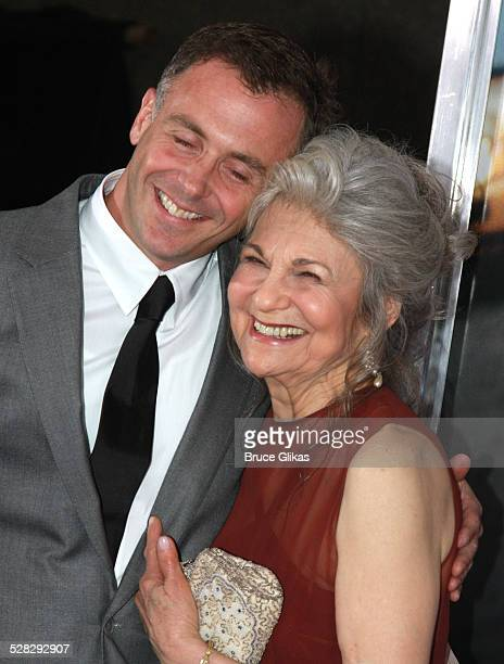 Actor David Eigenberg who plays Steve and actress Lynn Cohen attend the premiere of Sex and the City The Movie at Radio City Music Hall on May 27...