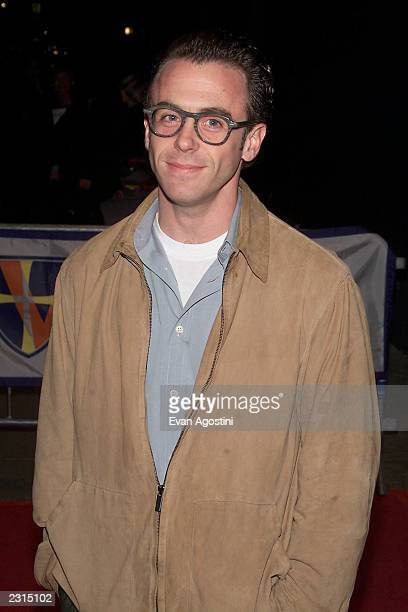 """Actor David Eisenberg arriving for a screening of """"Shallow Hal"""" to benefit pediatric programs of St. Vincent's Hospital in New York City. 11/7/2001...."""