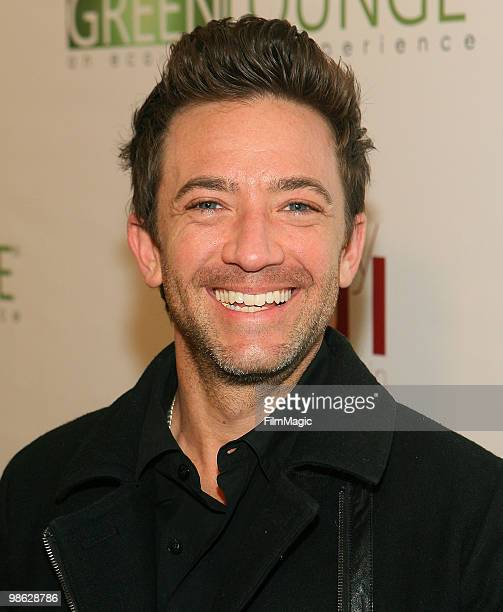 Actor David Faustino arrives at Green Lounge Eco Luxury Experience Earth Day Awards Presented By Lexus Santa Monica on April 22 2010 in Santa Monica...