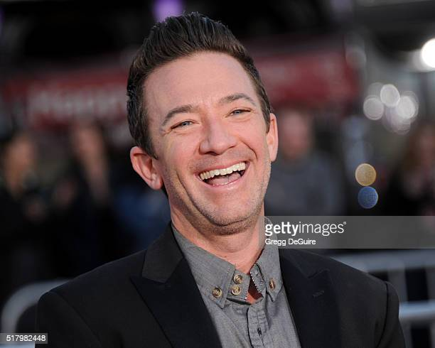 Actor David Faustino arrives at the premiere of USA Pictures' The Boss at Regency Village Theatre on March 28 2016 in Westwood California