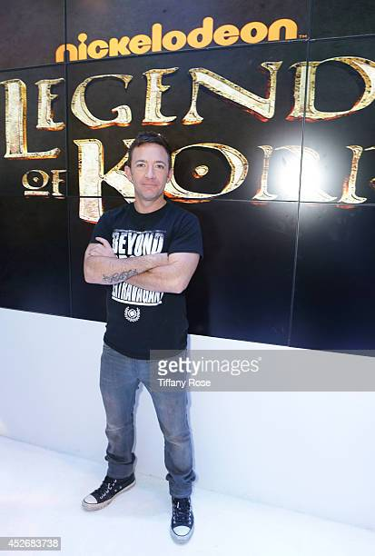 Actor David Faustino attends the Legend of Korra signing at the 2014 San Diego ComicCon International Day 3 on July 25 2014 in San Diego California