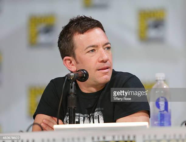 Actor David Faustino speaks at the Legend of Korra panel at the 2014 San Diego ComicCon International Day 3 on July 25 2014 in San Diego California