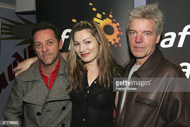 Actor David Field actress Loene Carmen and actor Colin Friels at the screening of Tom White first film in the running for the 2004 Australian Film...