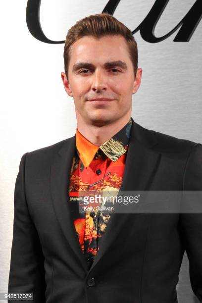 Actor David Franco arrives on the red carpet for the Santos de Cartier Watch Launch at Pier 48 on April 5 2018 in San Francisco California