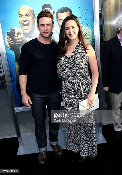 Actor David Fumero and actress Melissa Fumero attend a special presentation of Warner Bros' Keanu at ArcLight Cinemas Cinerama Dome on April 27 2016...