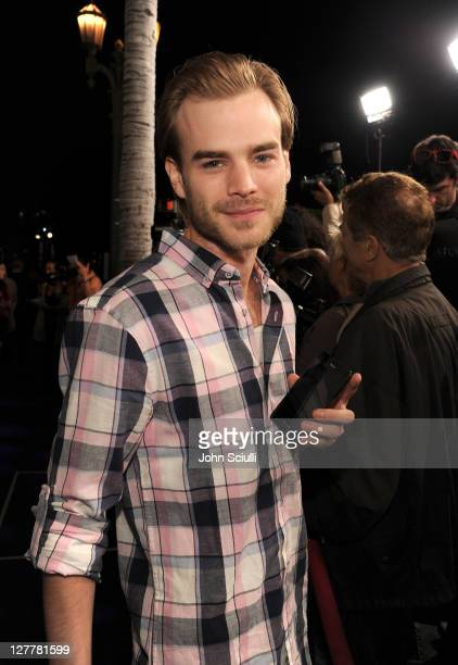 Actor David Gallagher attends the Samsung Infuse 4G For ATT Launch Event Featuring Nicki Minaj held at Milk Studios on May 12 2011 in Hollywood...