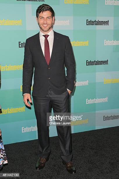 Actor David Giuntoli arrives at the Entertainment Weekly celebration at Float at Hard Rock Hotel San Diego on July 11 2015 in San Diego California