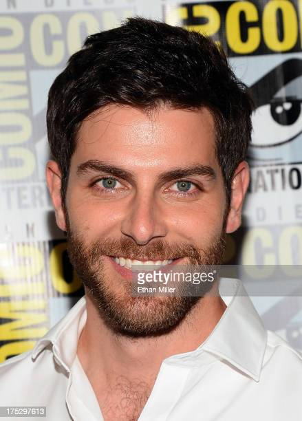 Actor David Giuntoli attends NBC's Grimm press line during ComicCon International 2013 at the Hilton San Diego Bayfront Hotel on July 20 2013 in San...