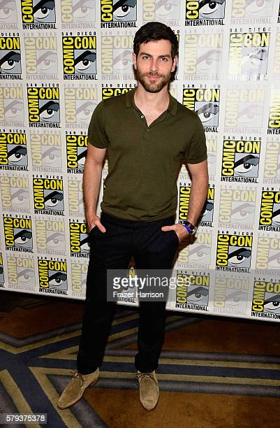 """Actor David Giuntoli attends the """"Grimm"""" press line during Comic-Con International on July 23, 2016 in San Diego, California."""