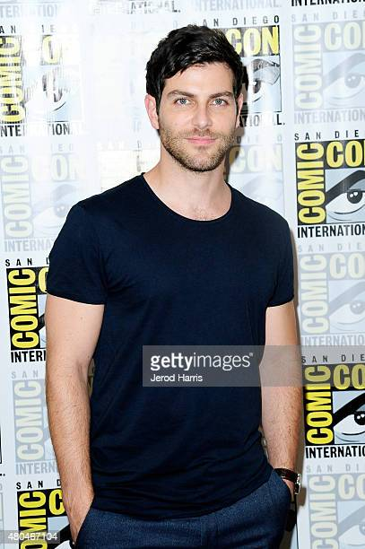 Actor David Giuntoli attends the Grimm press room during ComicCon International 2015 at the Hilton Bayfront on July 11 2015 in San Diego California