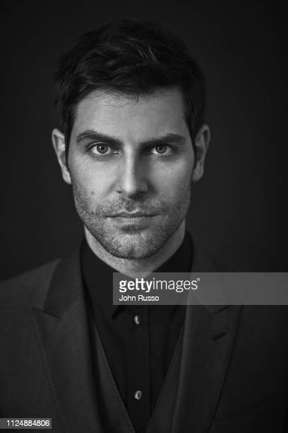Actor David Giuntoli is photographed for Gio Journal magazine on August 6 2018 in Los Angeles California