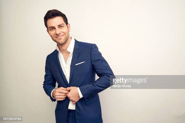 Actor David Giuntoli of ABC's 'A Million Little Things' poses for a portrait during the 2018 Summer Television Critics Association Press Tour at The...
