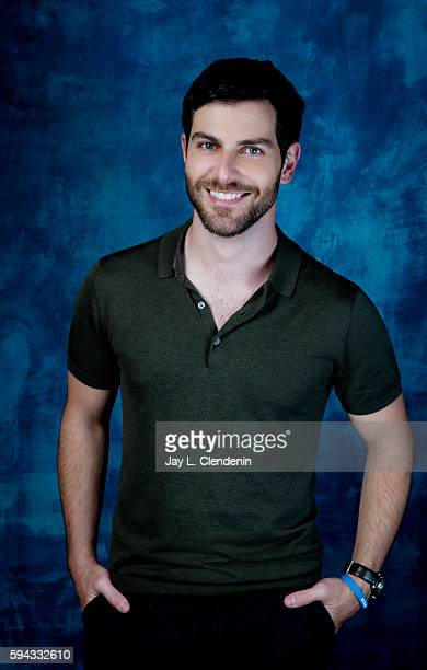 Actor David Giuntoli of Grimm is photographed for Los Angeles Times at San Diego Comic Con on July 22 2016 in San Diego California