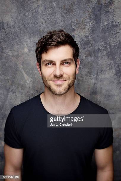 Actor David Giuntoli of 'Grimm' poses for a portrait at ComicCon International 2015 for Los Angeles Times on July 9 2015 in San Diego California...