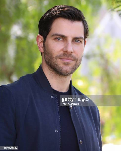 Actor David Giuntoli visits Hallmark Channel's Home Family at Universal Studios Hollywood on November 11 2019 in Universal City California
