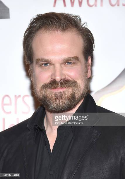 Actor David Harbour attends 69th Writers Guild Awards New York Ceremony at Edison Ballroom on February 19 2017 in New York City