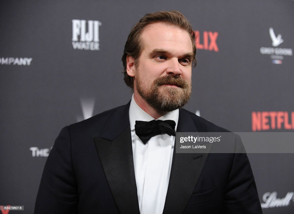 Actor David Harbour attends the 2017 Weinstein Company and Netflix Golden Globes after party on January 8, 2017 in Los Angeles, California.