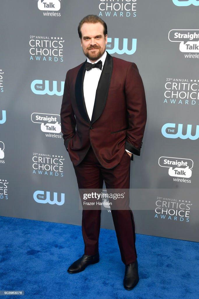 The 23rd Annual Critics' Choice Awards - Arrivals : ニュース写真