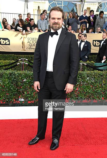 Actor David Harbour attends The 23rd Annual Screen Actors Guild Awards at The Shrine Auditorium on January 29 2017 in Los Angeles California 26592_008