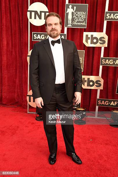 Actor David Harbour attends The 23rd Annual Screen Actors Guild Awards at The Shrine Auditorium on January 29 2017 in Los Angeles California 26592_011