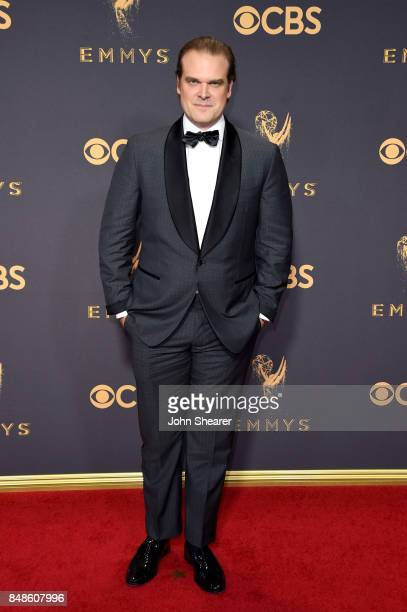 Actor David Harbour attends the 69th Annual Primetime Emmy Awards at Microsoft Theater on September 17 2017 in Los Angeles California