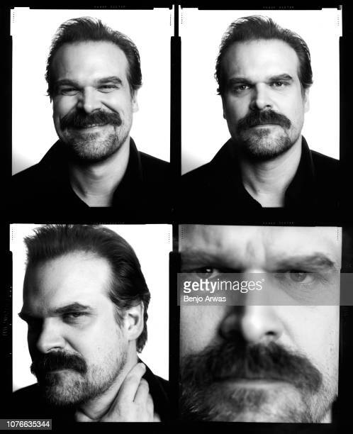 Actor David Harbour is photographed for The Wrap on July 23 2018 in Los Angeles California