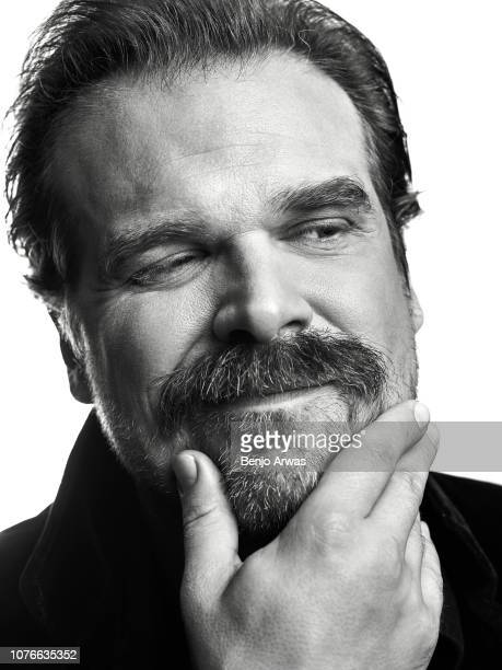 Actor David Harbour is photographed for The Wrap on July 23, 2018 in Los Angeles, California.