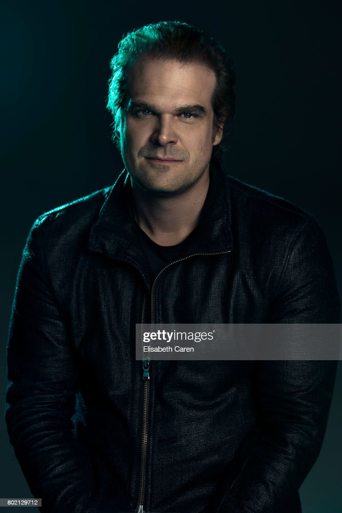 Actor David Harbour is photographed for The Wrap on June 1, 2017 in Los Angeles, California. PUBLISHED