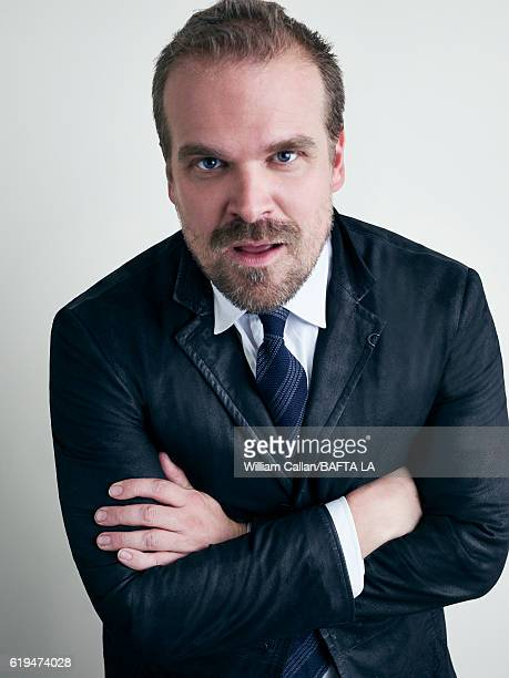 Actor David Harbour poses for a portrait BBC America BAFTA Los Angeles TV Tea Party 2016 at the The London Hotel on September 17 2016 in West...