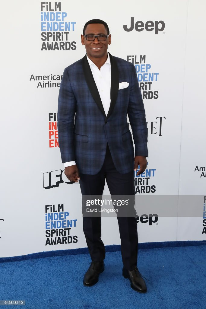 Actor David Harewood attends the 2017 Film Independent Spirit Awards on February 25, 2017 in Santa Monica, California.