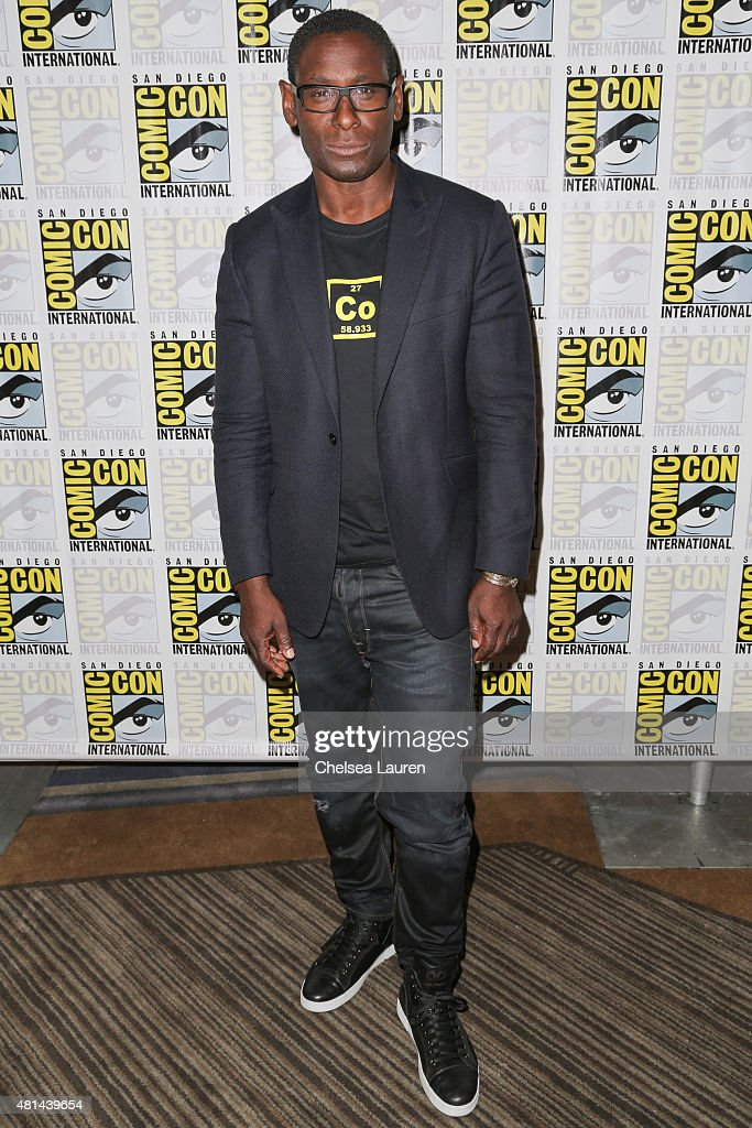Actor David Harewood attends the 'Supergirl' press room on July 11, 2015 in San Diego, California.