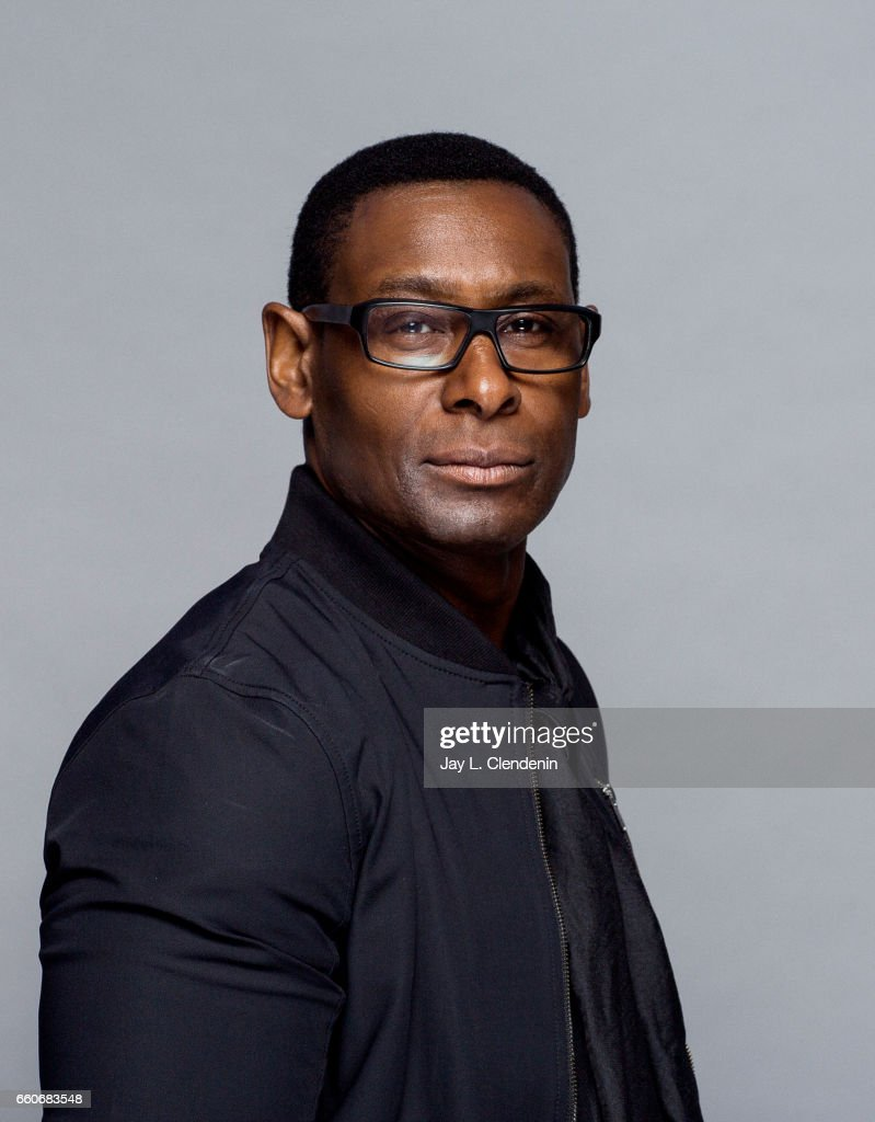 Actor David Harewood from CW's 'Supergirl' is photographed at Paley Fest for Los Angeles Times on March 18, 2017 in Los Angeles, California. PUBLISHED IMAGE.