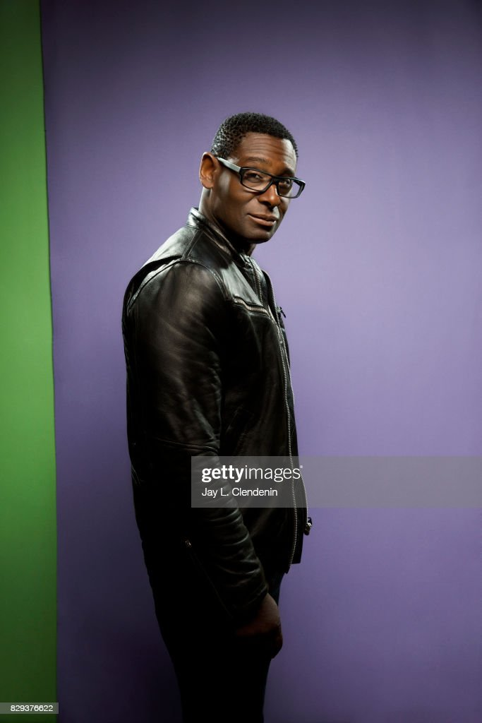 Actor David Harewood, from the television series 'Supergirl,' is photographed in the L.A. Times photo studio at Comic-Con 2017, in San Diego, CA on July 22, 2017.