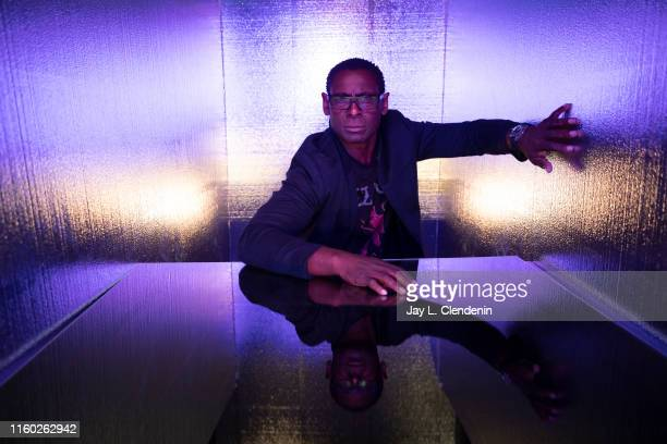 Actor David Harewood of 'Supergirl' is photographed for Los Angeles Times at ComicCon International on July 20 2019 in San Diego California PUBLISHED...