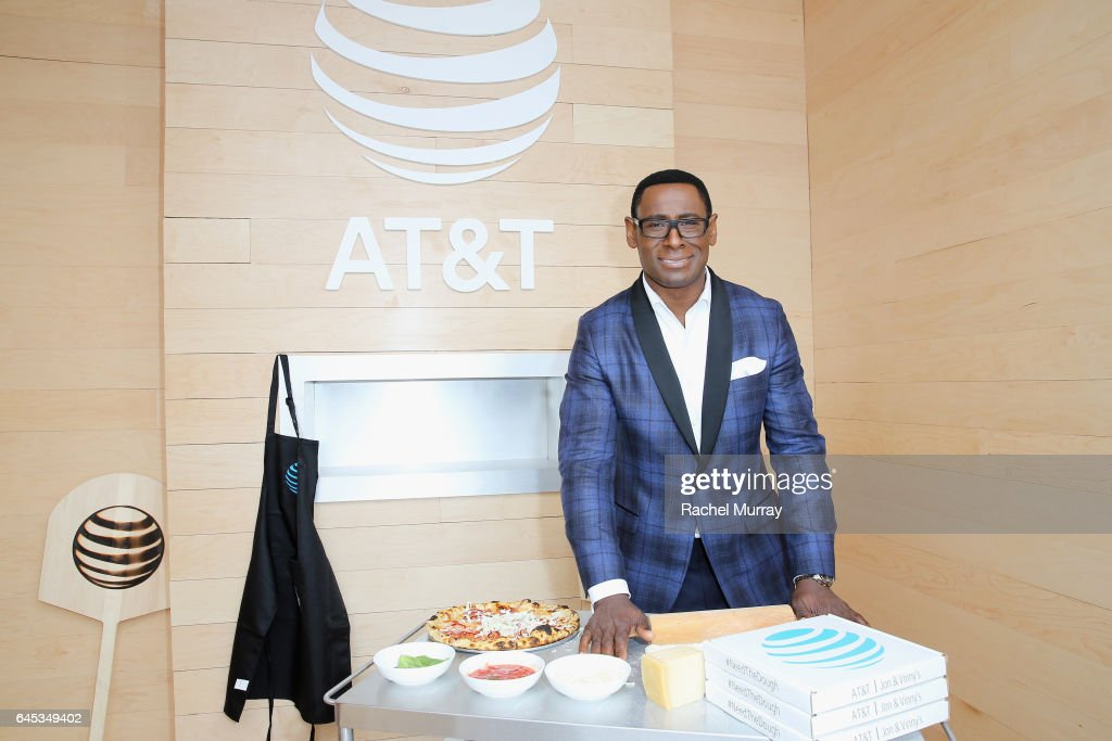 Actor David Harewood poses at AT&T's Jon & Vinny's pop-up pizza bar at the 2017 Film Independent Spirit Awards sponsored by AT&T at Santa Monica Pier on February 25, 2017 in Santa Monica, California. AT&T is a proud sponsor of the 2017 Independent Spirit Awards and is celebrating all things film with a Jon & Vinny's pop-up pizza bar. AT&T will donate 20,000 meals to the LA Food Bank as part of their #NeedTheDough event.