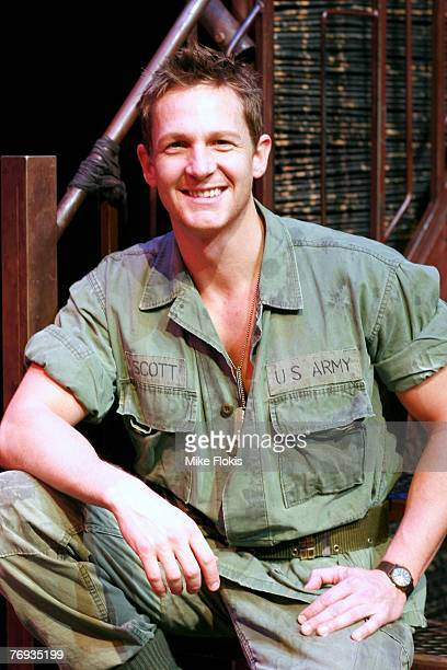 Actor David Harri poses during a media call for Miss Saigon at the Lyric Theatre on September 21 2007 in Sydney Australia