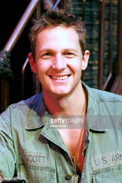 Actor David Harris poses during a media call for Miss Saigon at the Lyric Theatre on September 21 2007 in Sydney Australia