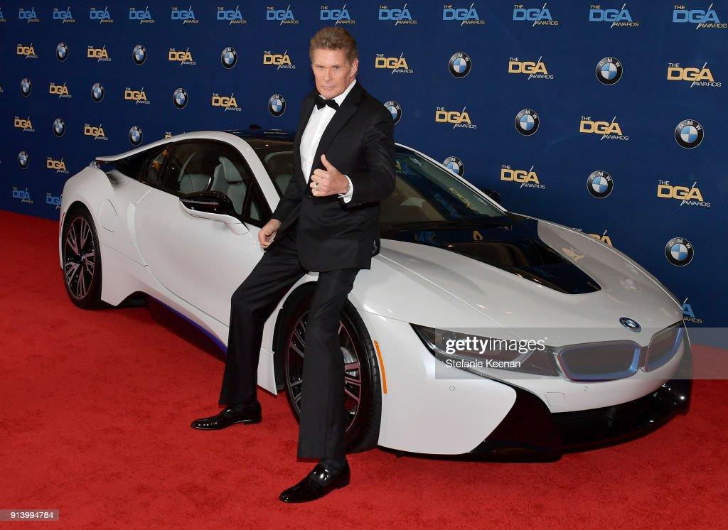 BMW Celebrates the 70th Annual DGA Awards As Exclusive Automotive Sponsor