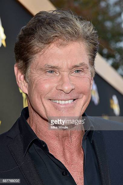 Actor David Hasselhoff attends the Television Academy's 70th Anniversary Gala on June 2 2016 in Los Angeles California