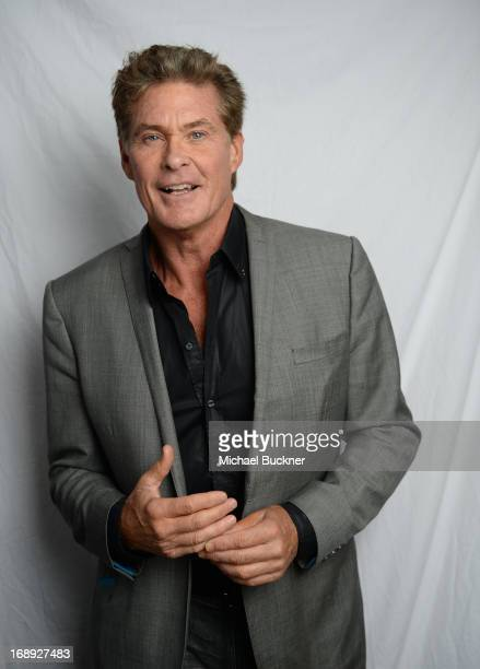 Actor David Hasselhoff poses for a portrait at the Variety Studio at the 66th Annual Cannes Film Festival at Chivas House on May 17, 2013 in Cannes,...