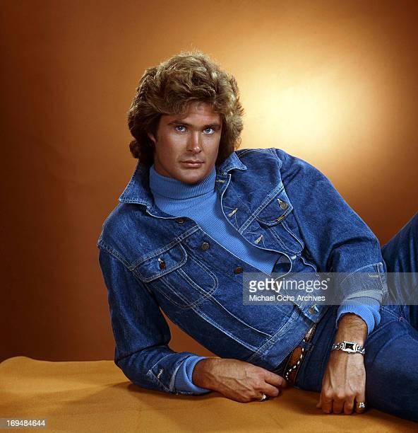 Actor David Hasselhoff poses for a portrait in circa 1983