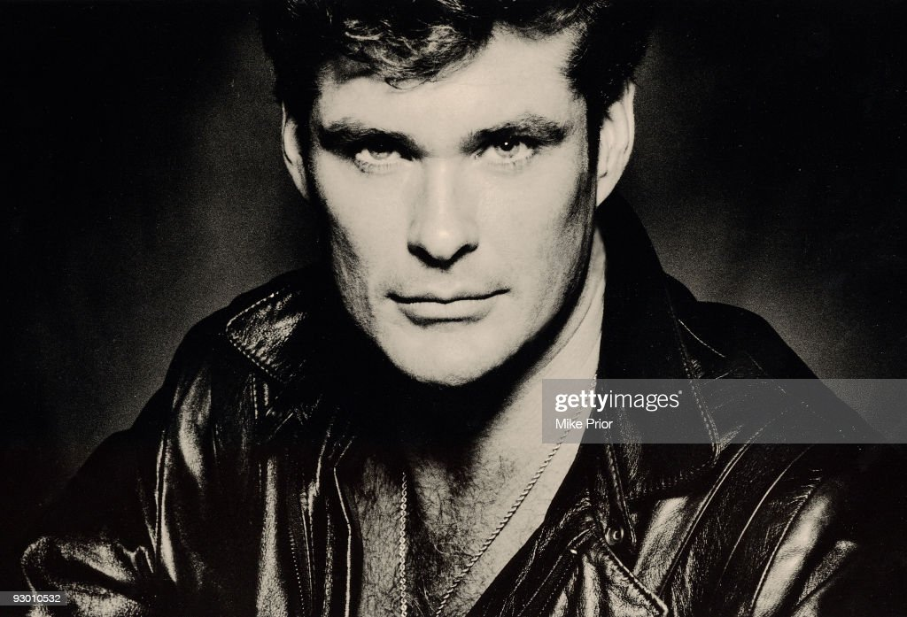 Actor David Hasselhoff poses for a studio portrait session c 1994 in London.