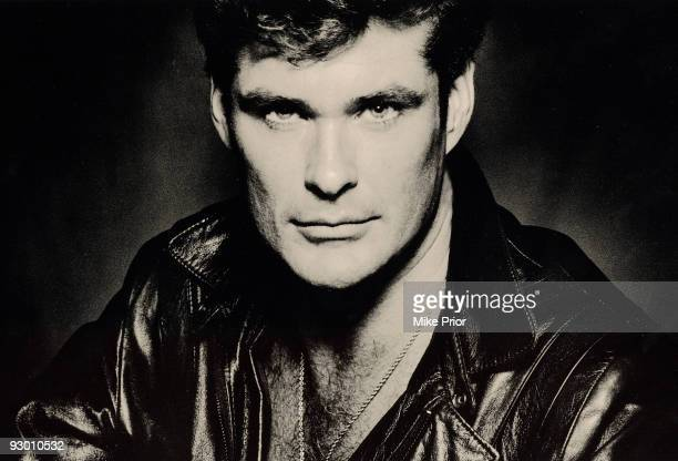 Actor David Hasselhoff poses for a studio portrait session c 1994 in London