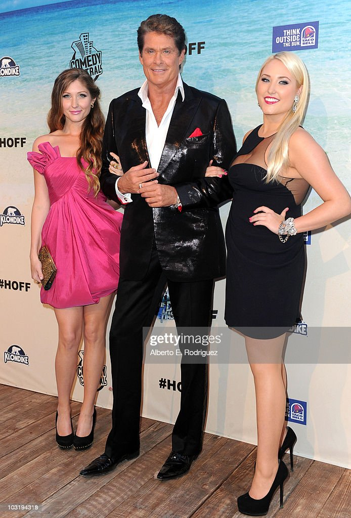 Comedy Central Roast Of David Hasselhoff - Arrivals