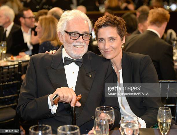 Actor David Hedison and photographer/director Alexandra Hedison attend the 2016 AMD British Academy Britannia Awards presented by Jaguar Land Rover...