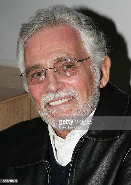 Actor David Hedison attends a launch party for the Jerry Leiber and Mike Stoller book Hound Dog at The Conga Room at LA Live on June 16 2009 in Los...